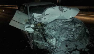 سانحه رانندگی در آزادراه خلیج فارس خوزستان یک کشته بر جای گذاشت