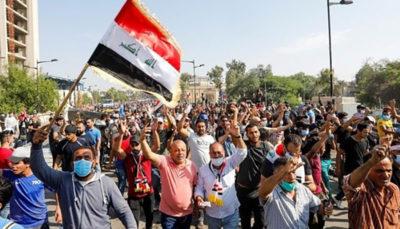 شمار جان باختگان تظاهرات در عراق به ۲۸۳ نفر رسید دولت عراق, نیروهای امنیتی, عراق