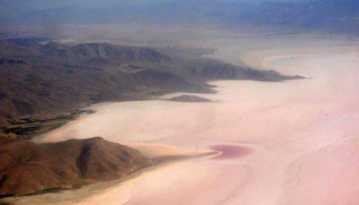 شناسایی کانونهای جدید گرد و غبار بخشهای خشک شده دریاچه ارومیه