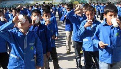 شیر رایگان از فردا در مدارس توزیع میشود
