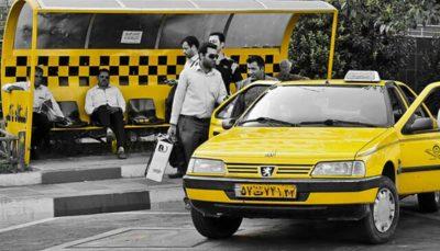 لزوم سهمیه بندی بنزین رانندگان تاکسی بر مبنای پیمایش