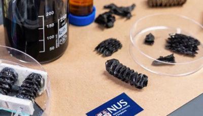 ماده فلزی تاشوی سبک صنعت رباتیک را متحول می کند