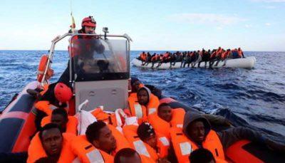 نجات ۱۴۹ مهاجر در آبهای ایتالیا