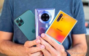 نفوذ اشکال هندسی به طراحی گوشیهای جدید