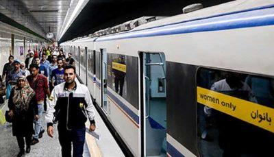 نقص فنی، علت ازدحام جمعیت در خط ۲ مترو