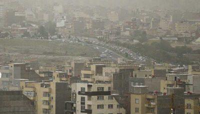 هوای شهر تهران برای گروههای حساس ناسالم است