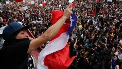 پیروزی معترضین در شیلی با برگزاری همه پرسی قانون اساسی