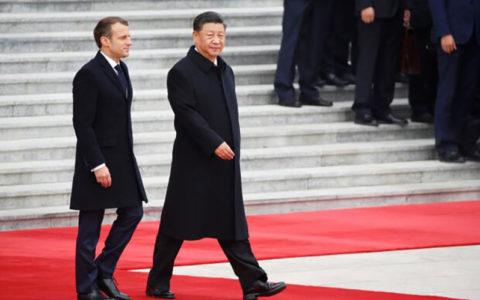 چین و فرانسه ۱۵ میلیارد دلار قرارداد امضا کردند