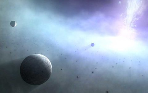 گردش هزاران ابرزمین به دور سیاه چاله ها منظومه شمسی, ابرزمین, سیاره, سیاه چاله