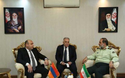 گسترش روابط اینترپل ایران و ارمنستان