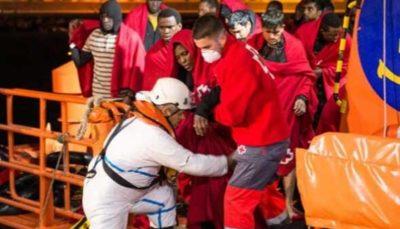 ۲۰ کشته و مفقود در پی واژگونی قایق مهاجران در آبهای مراکش