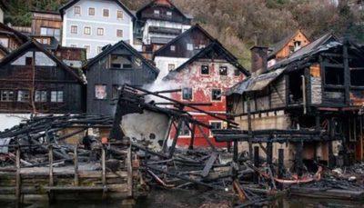 آتشسوزی در میراث جهانی اتریش