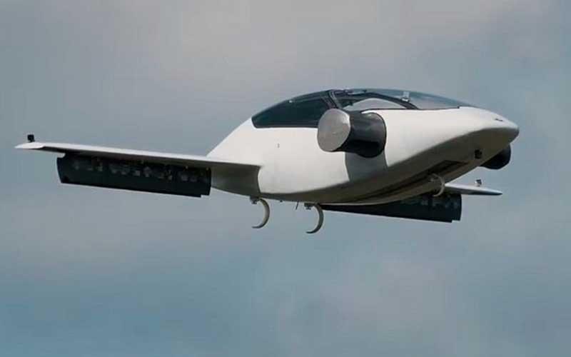 آزمایش جدید تاکسی پرنده لیلیوم با موتور جت