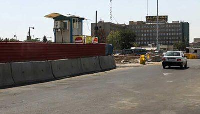 احتمال باز شدن یک لاین زیرگذر گیشا در پیک ترافیک