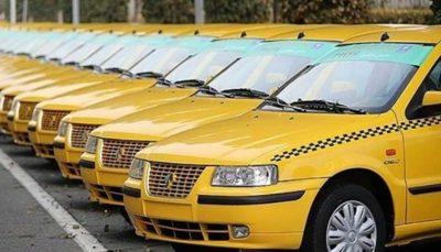 ارسال پیامک نوسازی به تاکسیهای 87 به قبل