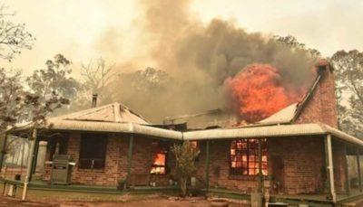 از بین رفتن یک شهرک در آتشسوزیهای اخیر استرالیا