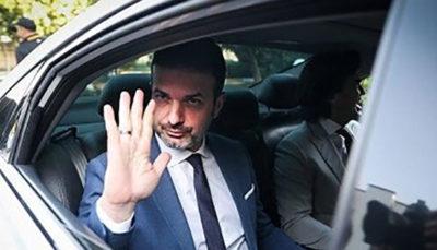 استراماچونی ساعت ١٣ در سفارت ایران