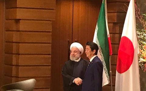 استقبال رسمی نخست وزیر ژاپن از رئیس جمهور