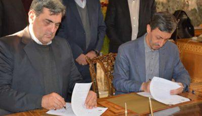 امضای تفاهم نامه بنیاد مستضعفان و شهرداری تهران