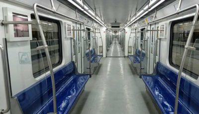 ایستگاه مترو مولوی همراه با دو رام قطار افتتاح شد