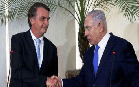 برزیل در سال ۲۰۲۰ سفارت خود را از تلآویو به قدس منتقل میکند