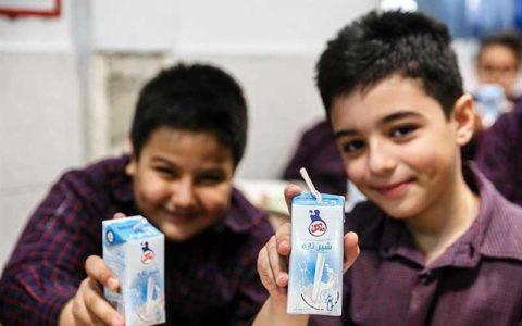 بودجه شیر مدارس در سال ۹۹ مشخص شد