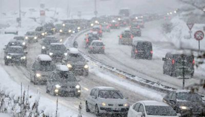 تاخیر و لغو بیش از ۴۰۰ پرواز در آمریکا به دلیل شرایط بد آبو هوایی