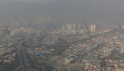 تداوم آلودگی هوا در شهرهای پرجمعیت کشور تا صبح فردا
