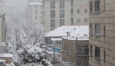 تداوم بارش باران و برف در کشور