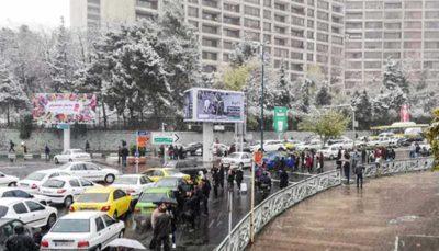 ترافیک سنگین در غرب به شرق و جنوب به شمال بزرگراههای پایتخت