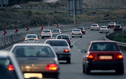 ترافیک پرحجم در دو «محور کرج–چالوس» و «قزوین-کرج»