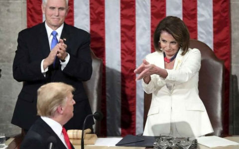 ترامپ سخنرانی سالانه در کنگره را پذیرفت