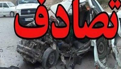 تصادف دو کامیون یک کشته بر جای گذاشت