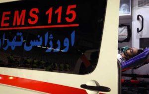 تصادف مرگبار تریلی با ۲۰۶ در جاده خاوران