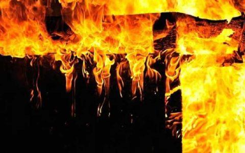 جانباختن یک تن در آتشسوزی کارگاه چوب