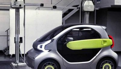 خودروی برقی ارزان که با چاپگر سه بعدی تولید می شود