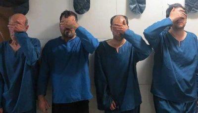 دستگیری دایی و خواهرزاده و مالخران آنها