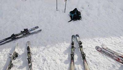 رقابت اسکیبازان صحرانوردی ایران در اسپرینت و استقامت