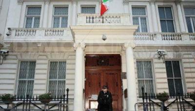 سفارت ایران در لندن ادعاهای مطرح شده علیه بعیدینژاد را رد کرد