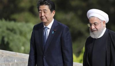 سفری بعد از 19 سال؛ روحانی در توکیو به دنبا ل چیست؟ آبه شینزو, کاهش تعهدات برجامی, حسن روحانی