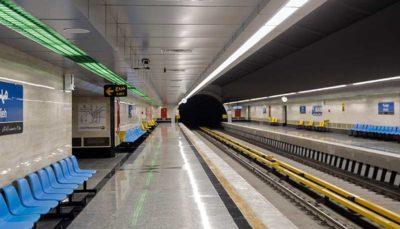 سیستم تهویه مترو اتوماتیک بوده و خاموش نمیشود