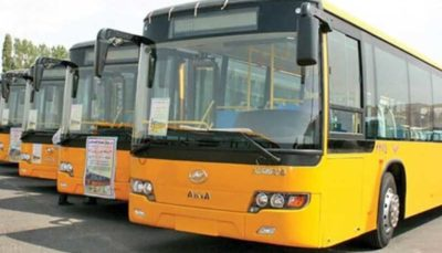 صندلی اتوبوسهای پایتخت فروشی میشود