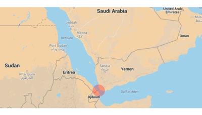 منبع یمنی: عربستان سعودی در حال ساخت پایگاه نظامی نزدیک بابالمندب است