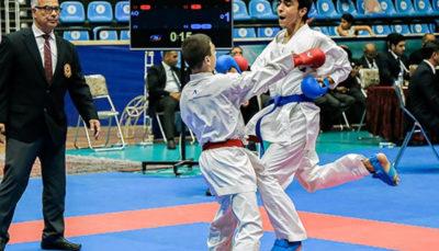 قهرمانی کاراته کاهای ایران در پانزدهمین دوره