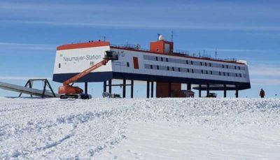مغز دانشمندان در قطب جنوب کوچک شد