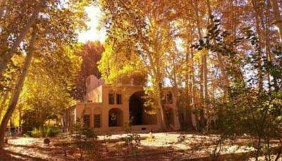  مناظر زیبایی که پاییز در مهریز یزد به جا گذاشت