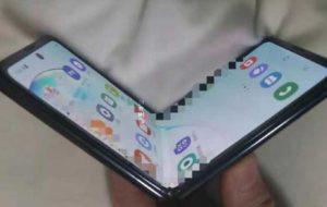 موبایل تاشوی جدید سامسونگ با کاور شیشه ای عرضه می شود