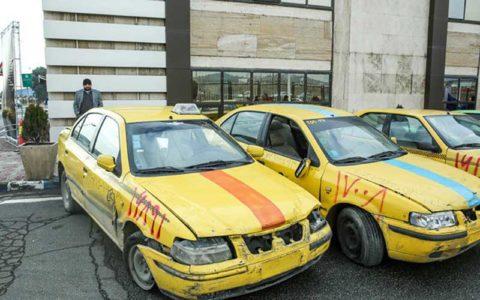نوسازی تاکسی از محل درآمدهای طرح ترافیک