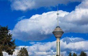 هوای تهران برای سومین روز متوالی سالم است