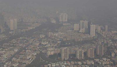 هوای تهران در ۱۷ ایستگاه، آلوده برای همه